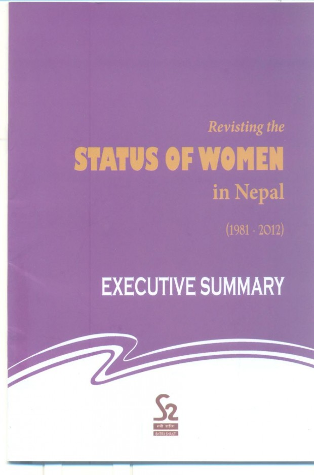 status of women(executive summary)